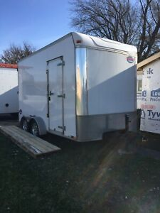 2014 7x14 United Uxt Enclosed Trailer Extra Tall New Tires