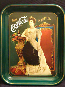 VINTAGE COCA COLA COKE 75TH ANNIVERSARY 1975 SERVING TRAY NUMBERED 072448