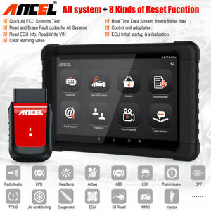 Android Tablet Automotive Full Systems Bluetooth Scanner Obd2 Diagnostic Tool
