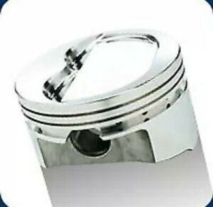 Srp Inverted Dome Pistons Small Block Chevy 400 Bore 4 155