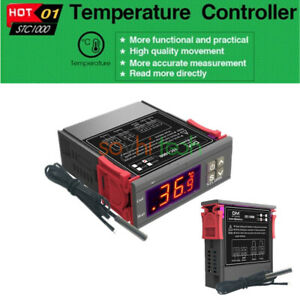 1 2 5x 110v 220v Stc 1000 Digital All purpose Temperature Controller Thermostat