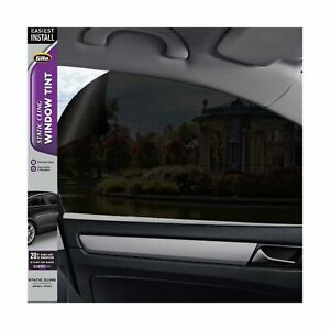 Gila Static Cling 20 Vlt Window Tint Blocks 80 Of Light Easy Installation