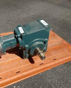 New Dodge 35a15r14 Tigear 2 Right Angle Gear Reducer Gearbox 15 1 Ratio 7 44 Hp