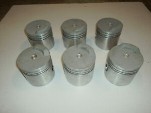 235 Chevrolet 6 Cyl Jahns High Performance 060 Dome Pistons Nos