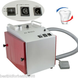 Vacuum Dust Extractor Collector Cleaner Dental Lab Equipment Lower Noise