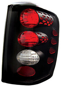 Ipcw Cwt ce5002cb For Jeep Grand Cherokee 1999 2004 Black Euro Tail Lamps