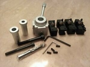 Precision Mini Quick Change Tool Post Holders Set For Hobby Lathes 830m new