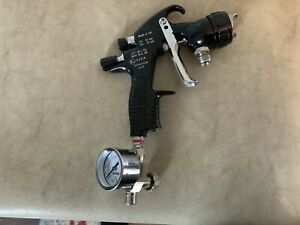 Devilbiss Tekna Prolite Spray Gun Pressure Feed Free Shipping To Usa
