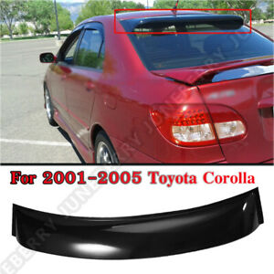 Rear Roof Window Shade Guard Visor Spoiler Wing For 2001 2005 Toyota Corolla