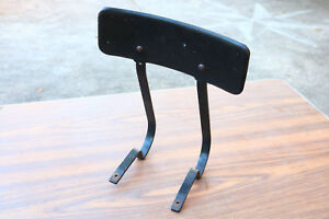 Vintage Architectural Salvage Chair Stool Back Rest Support Tactor Shop Steam Cu