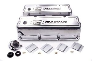 Ford 351c 400m Ford Racing Valve Cover Set P N M 6582 Z351
