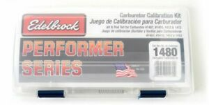 Edelbrock Calibration Kit For 1407 1410 1412 1413 P n 1480