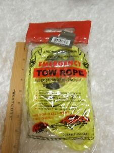 New Emergency Tow Rope Super Strong Lightweight W Case Car Truck
