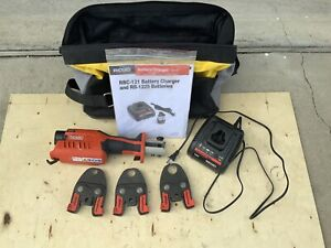 Ridgid Propress Rp 241 With 1 2 1 Jaws Battery And Charger