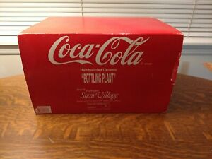Dept 56 Snow Village Coca Cola Brand Bottling Plant 54690