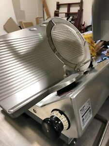 2014 Bizerba Gsp hd Automatic Gravity Meat Slicer Sharpener Vegetable Chute