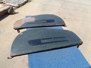 1941 Cadillac Fender Skirts Solid Pair