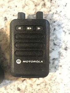 Motorola Minitor Vi 450 486 Mhz Fire Ems Pager W Charger Non Ul