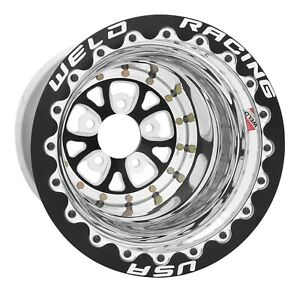 Weld Racing 84b 512212mb Pro Drag V series 15x12 In Bolt Pattern 5x4 5 In 12 7