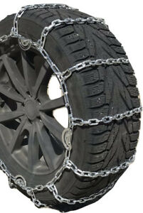 Snow Chains 265 70r 17 265 70 17 Lt 5 5mm Square Tire Chains One Pair