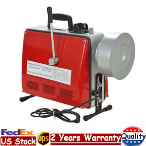 3 4 6 Commercial Pipe Drain Cleaner Electric Spiral Drain Cleaning Machine Us