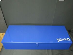 Williams Usa Made Tb 12 Toolbox Case For 3 4 Drive Socket Set 30 25x11 50x4 75