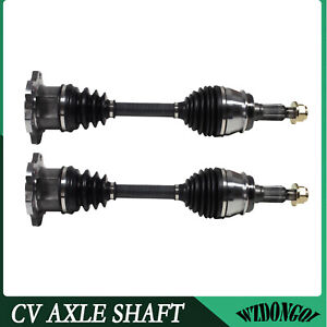 Front Cv Axle Shaft Left Right Kit Pair For Chevy Silverado 1500 Pickup 4wd