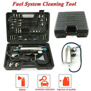 Non dismantle Fuel Injector Cleaner Kit Petrol Auto Throttle Car Cleaning Tool