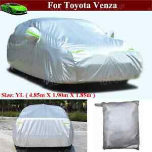 Full Car Cover Waterproof windproof dustproof For Toyota Venza 2013 2021
