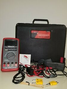 New Snap on True rms Automotive Multimeter Kit With Color Lcd Display