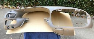 1997 2003 Ford F 150 Expedition Instrument Bezel Oem Tan