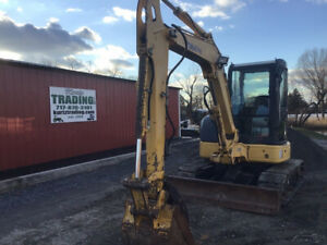 2008 Komatsu Pc50mr 2 Hydraulic Mini Excavator W Cab Hydraulic Thumb