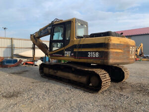 1997 Caterpillar 315b Hydraulic Excavator W Cab No Bucket Read Description