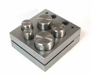 5 Pc Metal Craft Disc Cutter Puncher Tool Set 1 2 To 1 Inch