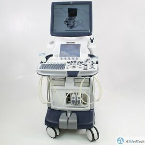 Ge Logiq E9 Ultrasound System With C1 5 d Ml6 15 d Probes