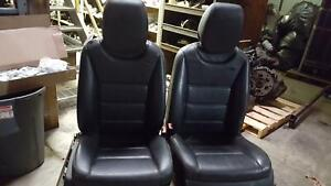 Porsche Cayenne 2 Front Seats Bucket Air Bag Electric Leather