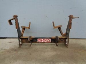 02 Ford F550 Superduty Frame Mounted Boss Plow Frame Mounts 177769