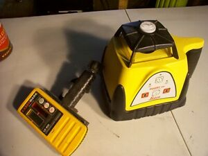 Rugby 100 Rotating Laser Level By Leica Geosystems Automatic Operation Manual