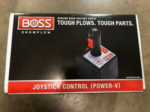 Boss Snow Plows Joystick Control V Blade Only Msc03809