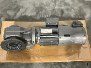 Sew eurodrive Kaf47dre80m4be1hr v 1hp New