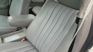1982 Mercedes 300sd Turbo Diesel Left And Right Front Seats Grey