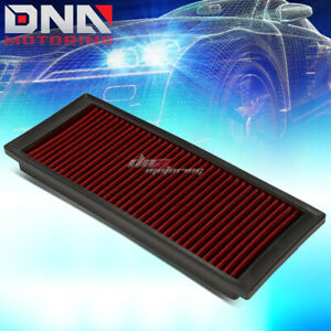 For 09 17 Vw A5 Pq35 2 0t Red Replacement Racing Hi Flow Drop In Air Filter