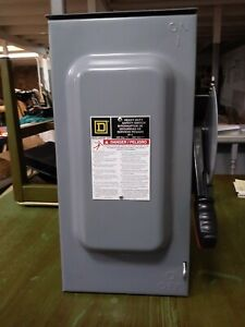 Square D Heavy Duty Safety Switch H362nrb 60a Preowned New