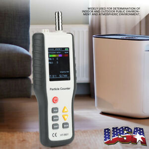 Pm2 5 Detector Particle Monitor Laser Dust Humidity Meter Air Quality Analyzer