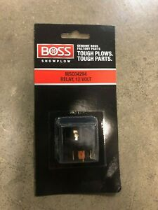 Boss Snow Plows 12v Relay Msc04294