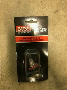 Boss Snow Plows Bulb H9 High Beam Headlight 20 Msc11107