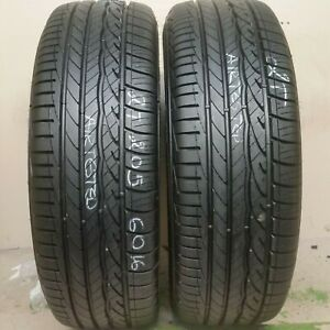 2 Tires 205 60 16 Dunlop Conquest Sport 92v 100 Tread No Repairs
