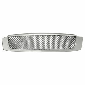 Mesh Replacement Grille For 2000 2005 Cadillac Deville chrome Abs Premium Fx