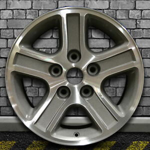 Medium Metallic Charcoal Oem Factory Wheel For 2006 2008 Dodge Ram 1500 17x8