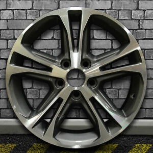 Machined Metallic Charcoal Oem Wheel For 2013 2014 Ford Mustang 17x7
